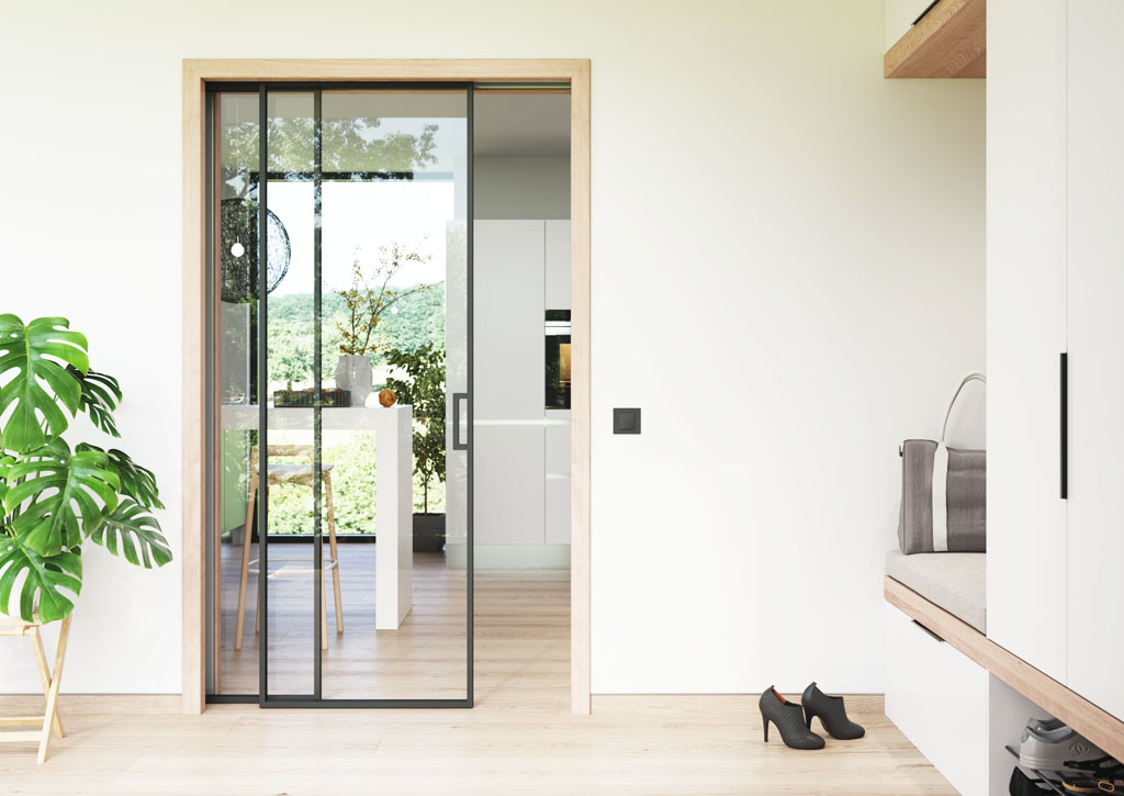 Stavebne puzdro NORMA PARALLEL dvere IDEA JAP Slovakia, interier dvere