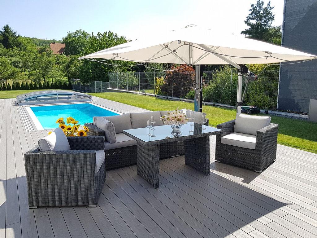 Čo by nemalo chýbať v záhrade, aby bolo záhradné posedenie dokonalé, záhradný nábytok, exteriér, záhrada