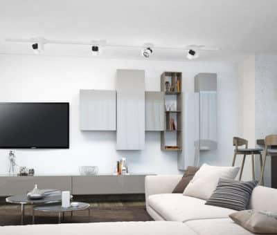 Keď sa na nábytku stretne dizajn s odolnosťou T acrylic leskla seda hodvabna norka leskla obyvacia izba TRACHEA