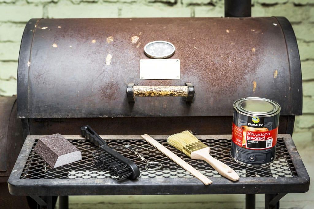 Pripravte sa na grilovaciu sezónu, v akom stave je váš gril, Ziaruvzdorna kováčska farba primalex