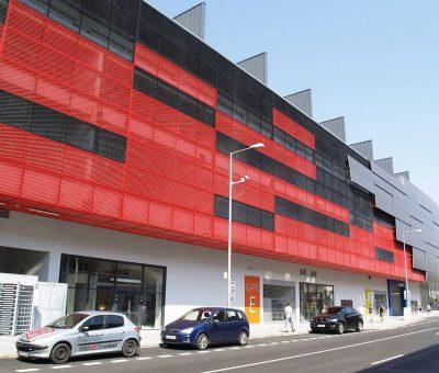 Perforované materiály – záruka nadčasového a funkčného dizajnu, exterier, fasada z perforovaneho materialu, Perfora
