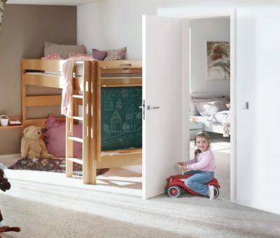 Vyberte si dvere a zárubne, ktoré odolajú náporu detí aj domácich miláčikov, Odolne dvere Duradecor Hormann, Atelier Suchánek, interier