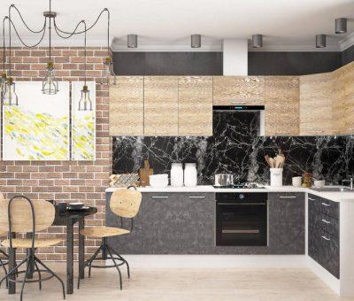 Rohová kuchyňa v malej kuchyni, aké sú jej výhody