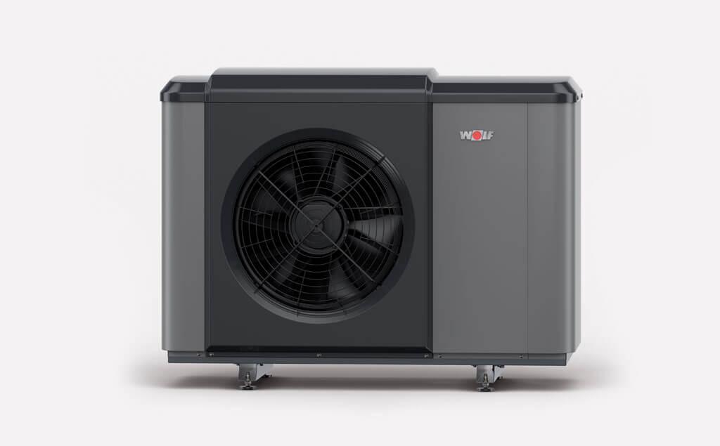 Tepelné čerpadlá – moderné zdroje tepla a chladu, WOLF CHA Monoblock, Najtichšie tepelné čerpadlo, Šetrnosť k životnému prostrediu s minimálnou hodnotou GWP