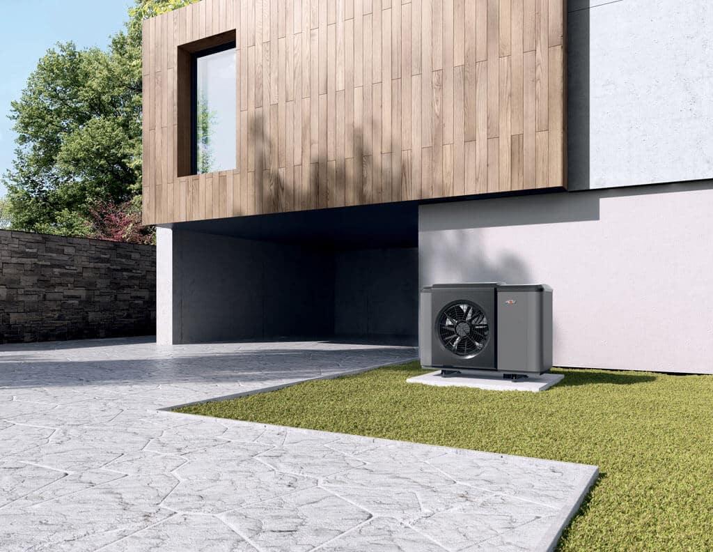 Tepelné čerpadlá – moderné zdroje tepla a chladu, montaz tepelneho cerpadla, vykurovanie, Invertorová technológia a elektrický vykurovací článok